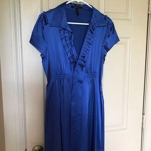Beautiful BCBG silly blue dress.